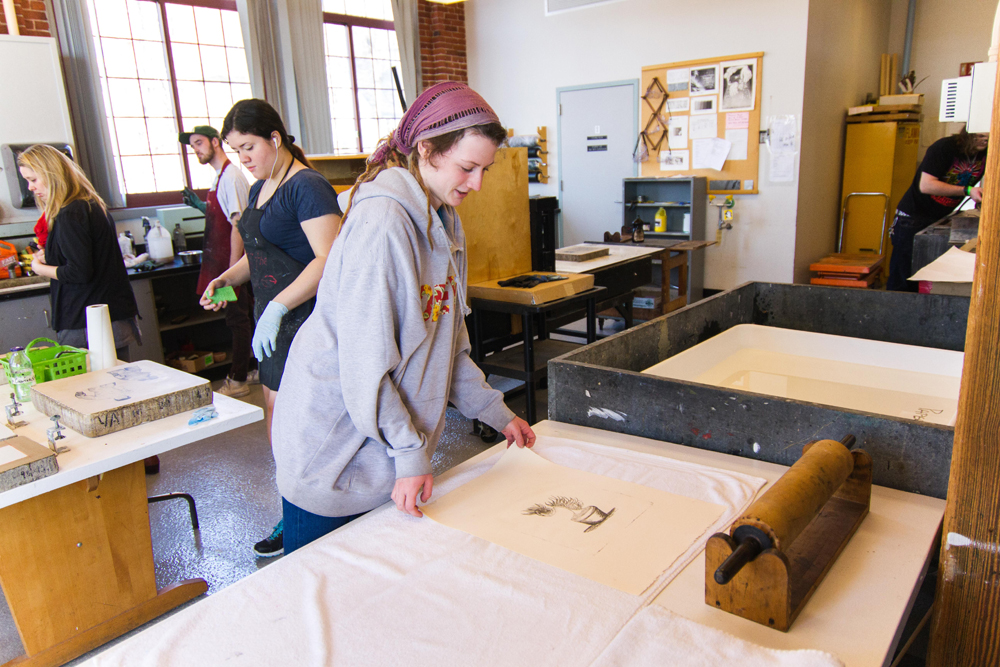 Printmaking Studio 301