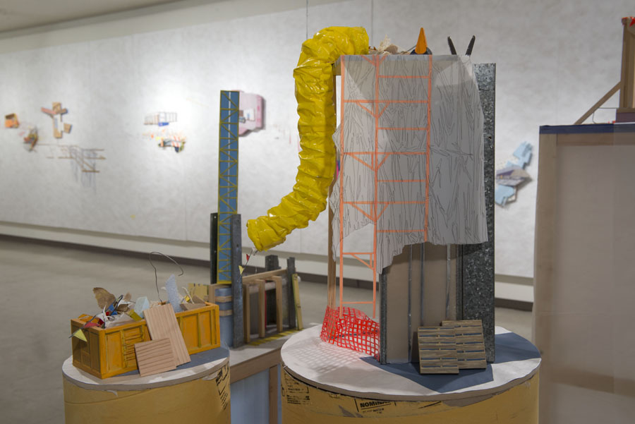 MFA Thesis Installation Dteail 2 (2014)