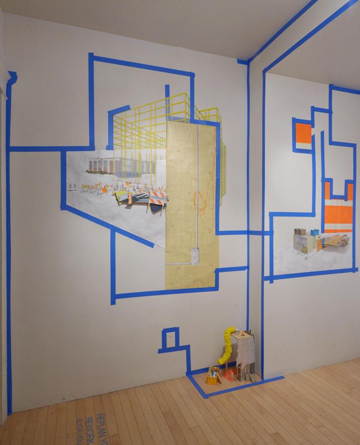 Replan Your Work, Rework Your Plan Installation Detail (2014)