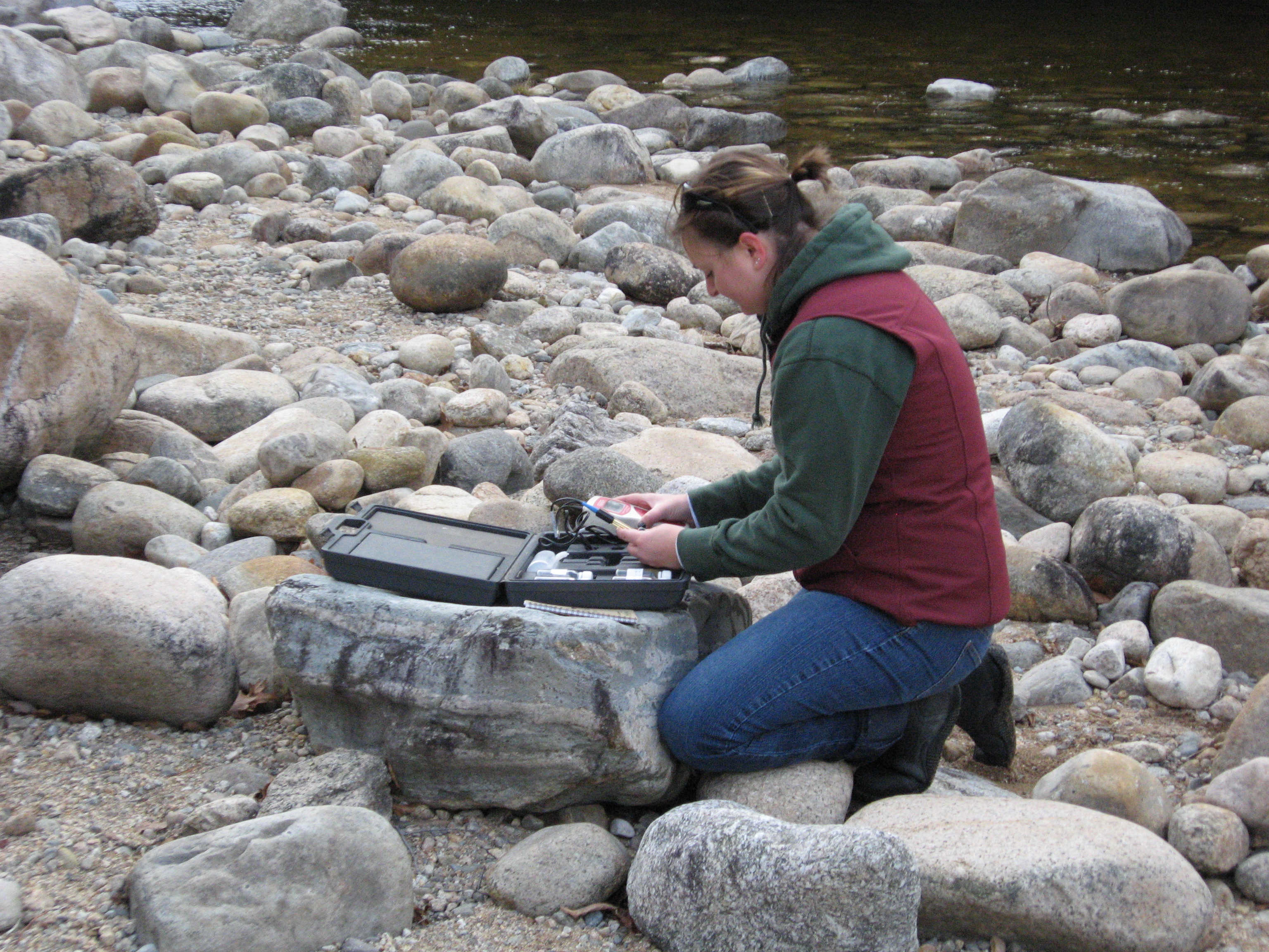 Tracing Source Waters in the Pemigewasset River Watershed
