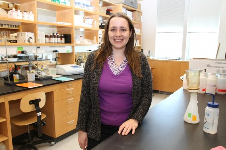 PSU graduate student Melanie Perello has received a prestigious grant to study water quality in New Hampshire's Ossipee and Squam Lakes.