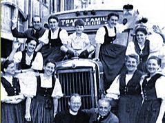 von Trapp family on tour