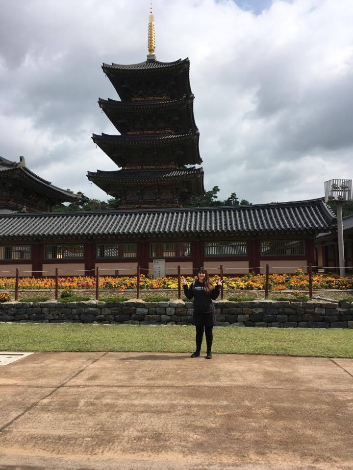 Cheyenne Cremeans in Buyeo, South Korea